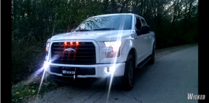 Ford F-150 LED strobes