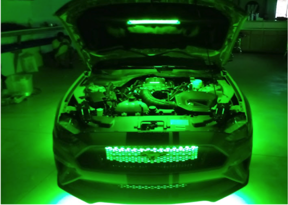 Feature Build: Ford Mustang LED Body Glow Kit