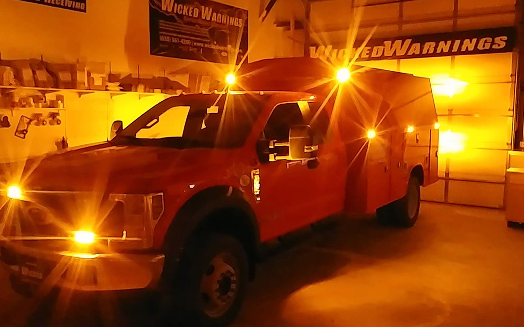 Featured Build: Construction Truck Strobe Lights for Fleet